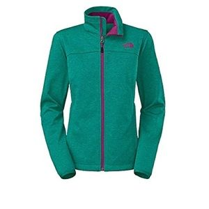 Women's North Face Canyon Jacket teal, xs